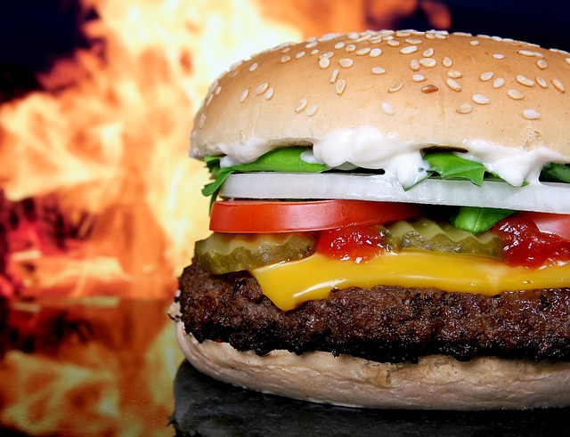 burger na imprezę domówkę