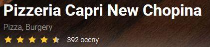 opinie capri new chopina pizzaportal