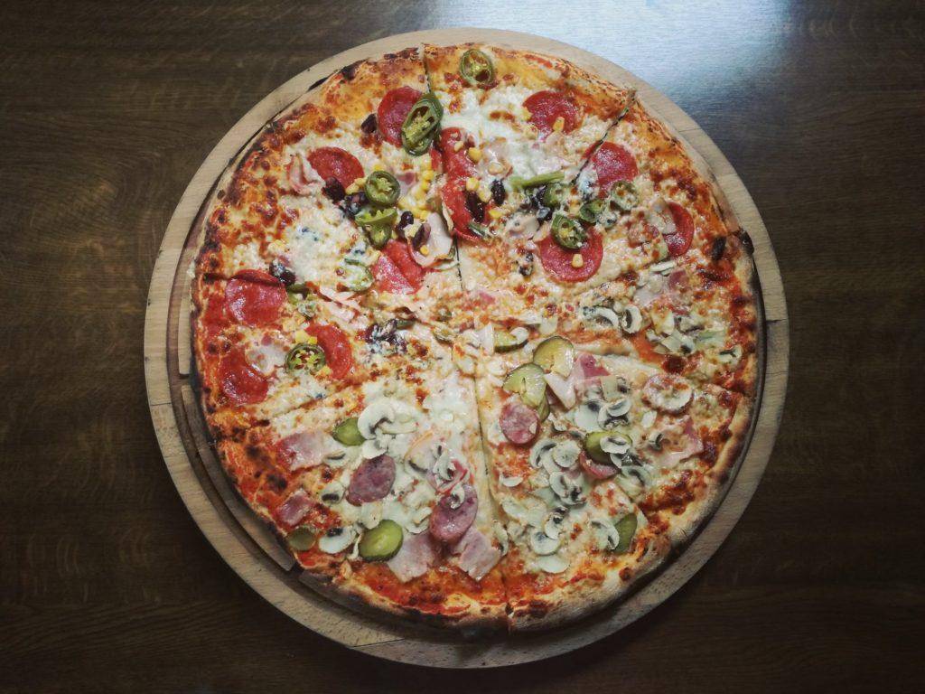 mity na temat kaloryczności pizzy